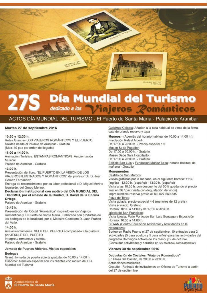 Día Mundial del Turismo Apartamentos Puerto Sherry