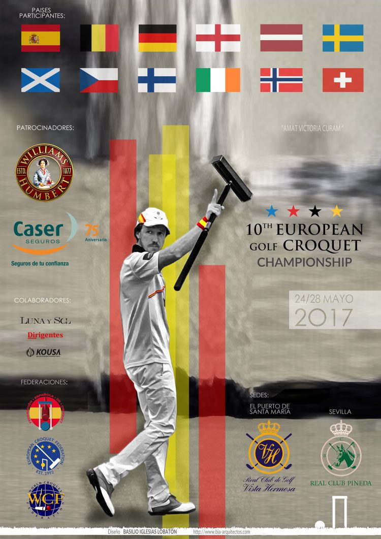 European Golf Croquet Championships Cadiz 2017