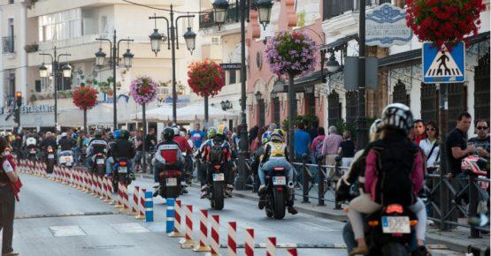 GP Motos motorada en El Puerto de Santa Maria