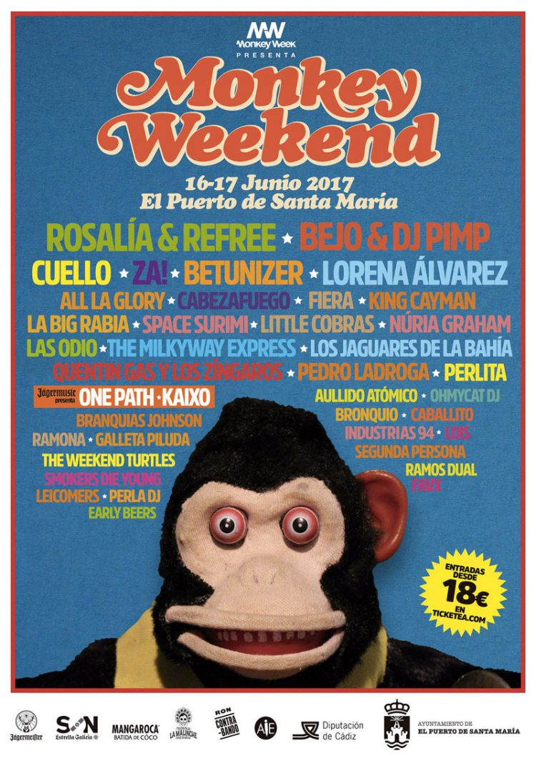 Monkey Weekend EL Puerto de Santa María 2017